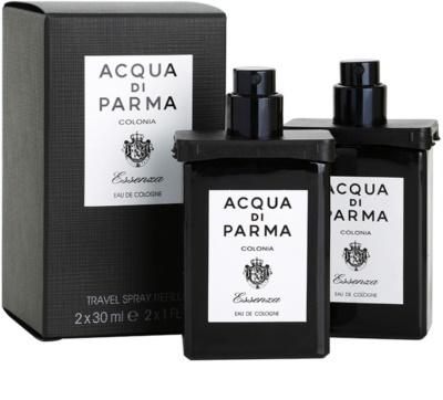 Acqua di Parma Colonia Essenza kolínská voda pro muže  (2x náplň s rozprašovačem) 2