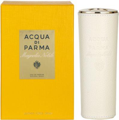 Acqua di Parma Magnolia Nobile eau de parfum nőknek  + bőrtokkal (refillable)