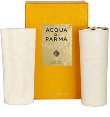 Acqua di Parma Magnolia Nobile woda perfumowana dla kobiet  + perfumy w skórzanym etui (refillable) 1