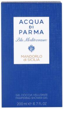 Acqua di Parma Blu Mediterraneo Mandorlo di Sicilia гель для душу унісекс 3