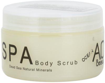 Adi Beauty Body Care Ocean peeling corporal  com minerais do Mar Morto