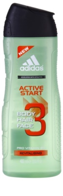 Adidas 3 Active Start (New) gel de duche para homens