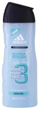 Adidas 3 Extra Fresh Duschgel für Herren