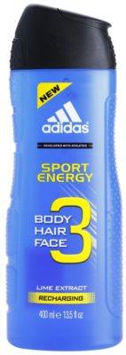 Adidas A3 Sport Energy gel de duche para homens