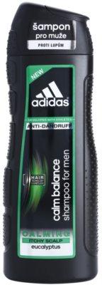 Adidas Calm Balance beruhigendes Shampoo gegen Schuppen