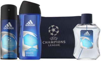 Adidas UEFA Champions League coffret presente