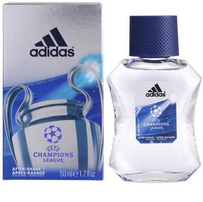 Adidas UEFA Champions League after shave para homens