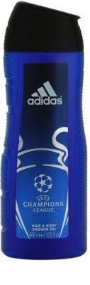 Adidas UEFA Champions League gel de duche para homens