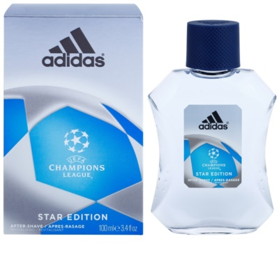 Adidas Champions League Star Edition after shave para homens