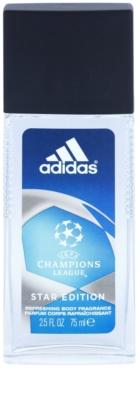 Adidas Champions League Star Edition desodorizante vaporizador para homens