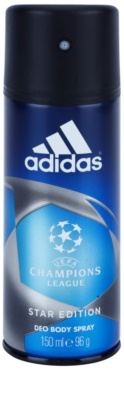 Adidas Champions League Star Edition deodorant Spray para homens