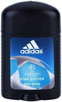 Adidas Champions League Star Edition desodorante en barra para hombre