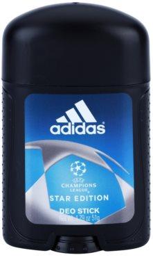 Adidas Champions League Star Edition desodorizante em stick para homens