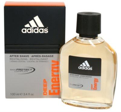 Adidas Deep Energy after shave para homens