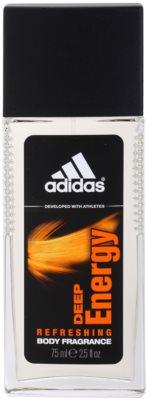 Adidas Deep Energy desodorizante vaporizador para homens