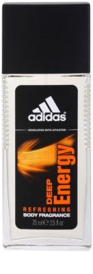 Adidas Deep Energy дезодорант з пульверизатором для чоловіків