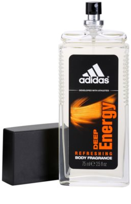 Adidas Deep Energy deodorant s rozprašovačem pro muže 1