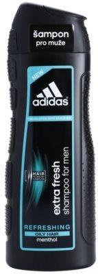 Adidas Extra Fresh osvežujoči šampon za mastne lase