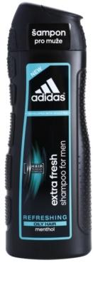 Adidas Extra Fresh освіжаючий шампунь для жирного волосся