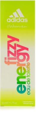Adidas Fizzy Energy eau de toilette para mujer 4