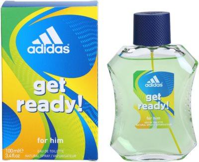 Adidas Get Ready! Eau de Toilette pentru barbati