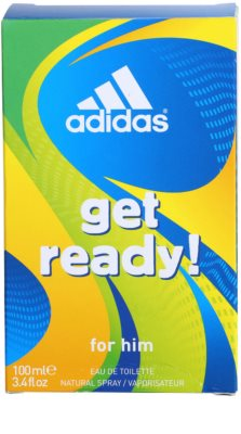 Adidas Get Ready! Eau de Toilette pentru barbati 4