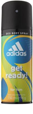 Adidas Get Ready! zestaw upominkowy 3