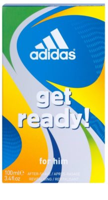 Adidas Get Ready! after shave para homens 2