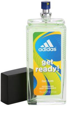 Adidas Get Ready! deodorant s rozprašovačom pre mužov 1