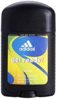 Adidas Get Ready! desodorizante em stick para homens