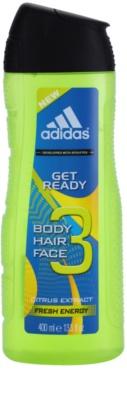 Adidas Get Ready! gel de dus pentru barbati  3in1
