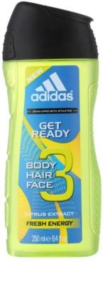 Adidas Get Ready! gel de duche para homens  2 em 1