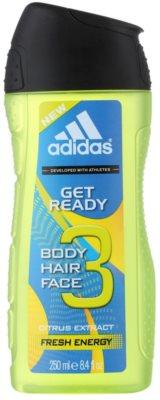 Adidas Get Ready! gel za prhanje za moške  2v1