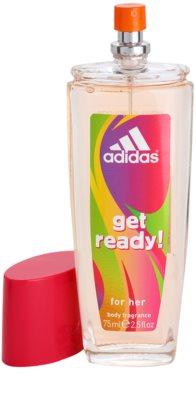 Adidas Get Ready! deodorant s rozprašovačom pre ženy 1