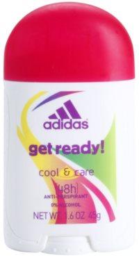 Adidas Get Ready! дезодорант-стік для жінок