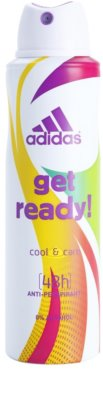 Adidas Get Ready! Cool & Care deospray pro ženy 1