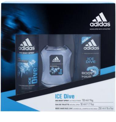 Adidas Ice Dive dárková sada 2