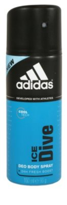Adidas Ice Dive deospray pentru barbati   24 h