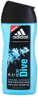 Adidas Ice Dive gel za prhanje za moške