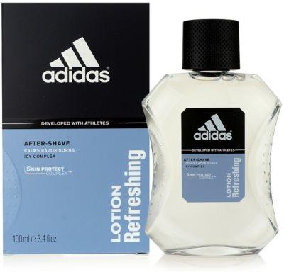 Adidas Skin Protect Lotion Refreshing woda po goleniu dla mężczyzn