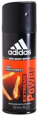 Adidas Extreme Power Deo-Spray für Herren   24 h
