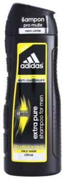 Adidas Extra Pure почистващ шампоан против пърхот