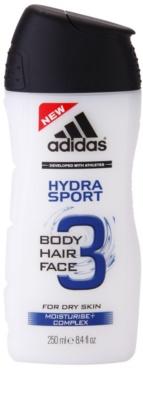 Adidas 3 Hydra Sport Duschgel für Herren