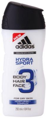 Adidas 3 Hydra Sport sprchový gél pre mužov