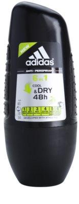 Adidas 6 in 1 Cool & Dry deo-roll-on za moške