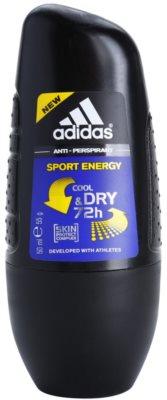 Adidas Sport Energy Cool & Dry desodorante roll-on para hombre