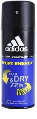 Adidas Sport Energy Cool & Dry deodorant Spray para homens