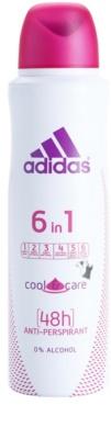 Adidas 6 in 1  Cool & Care Deo-Spray für Damen