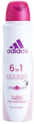 Adidas 6 in 1  Cool & Care дезодорант-спрей для жінок