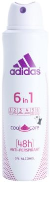 Adidas 6 in 1  Cool & Care desodorante en spray para mujer 1